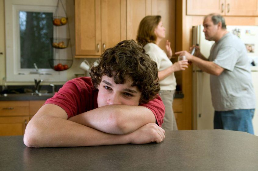 advice for teens with divorcing parents