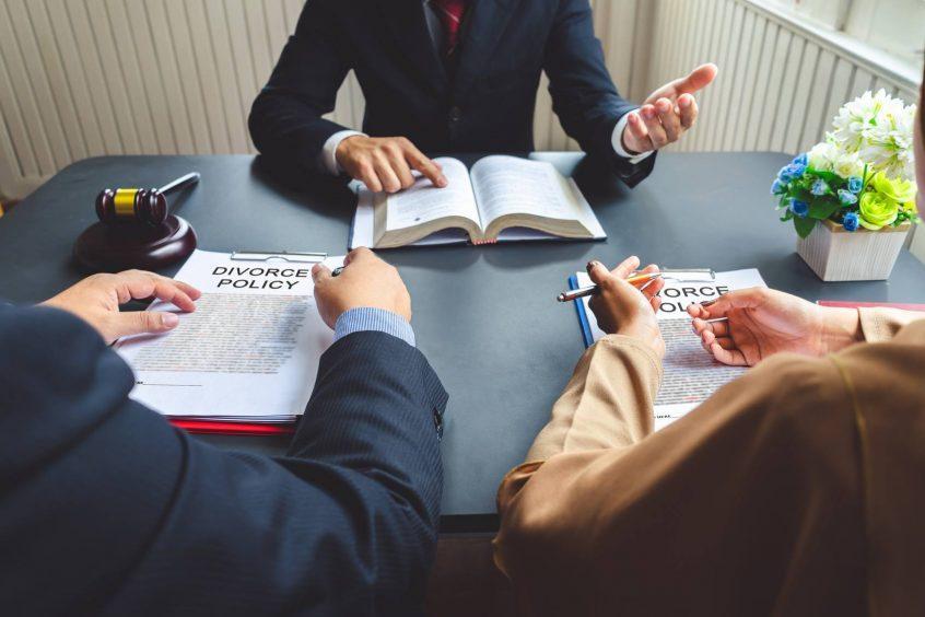 Divorce Without Spouse Address